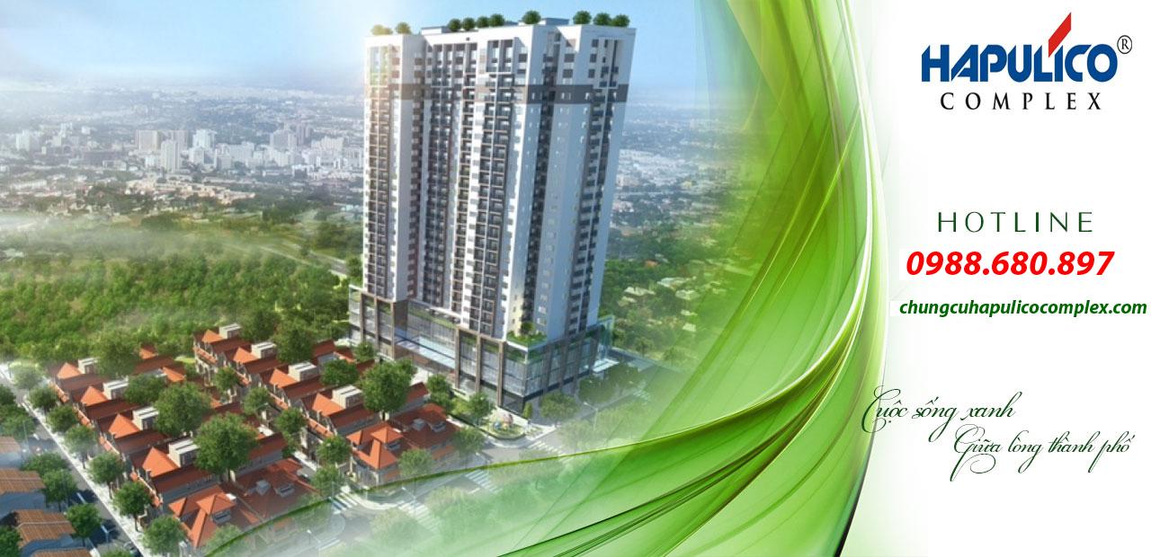 Phối cảnh dự án Hapulico Thanh Xuân complex